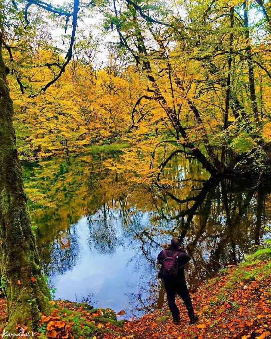 پاییز دریاچه فراخین